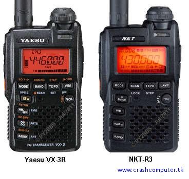 Baofeng UV-3R e NKT-R3